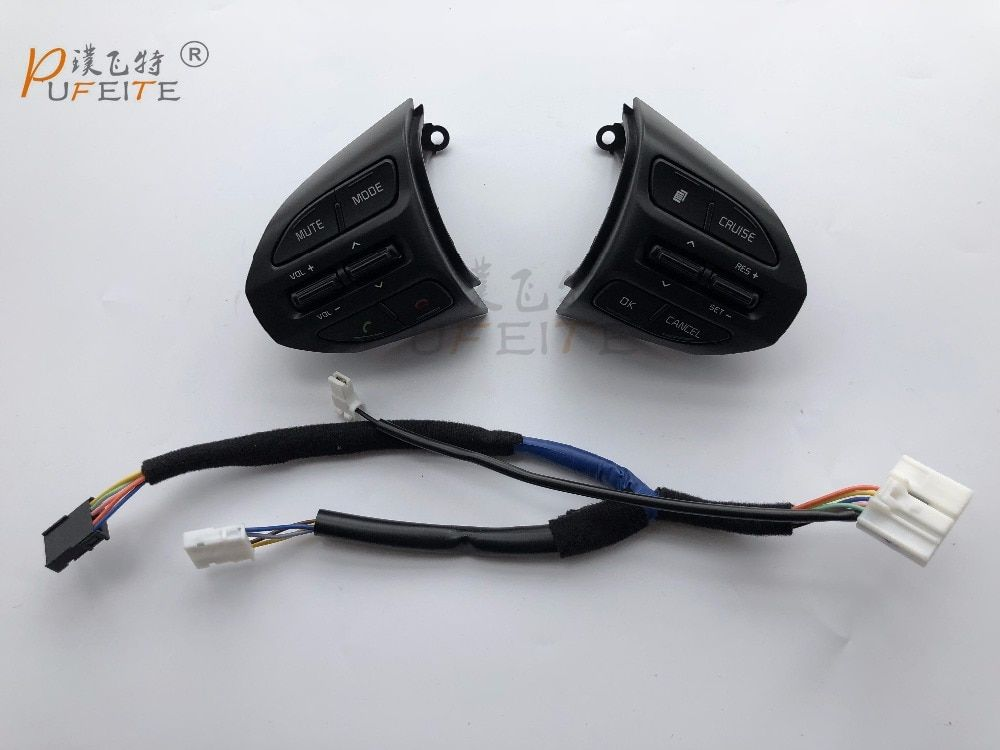 Steering wheel button For KIA KX3  original Steering wheel Audio,channel and Constant speed cruise control button