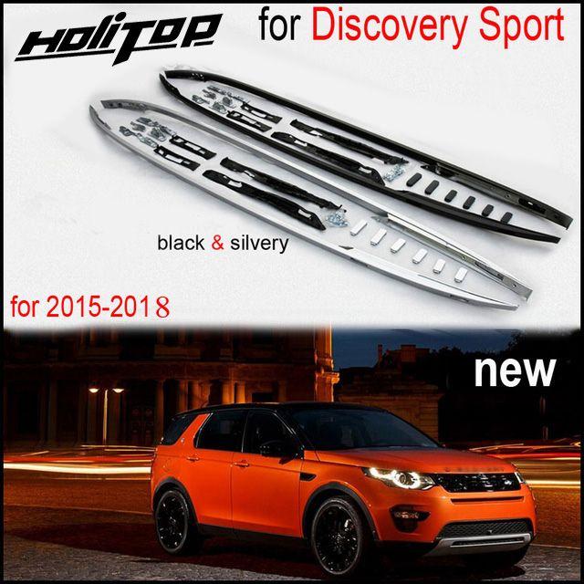 Barre de toit/rail de toit modèle OE pour Land Rover Discovery Sport 2015-2019, noir et argent. Par ISO9001 factory. Asia livraison gratuite