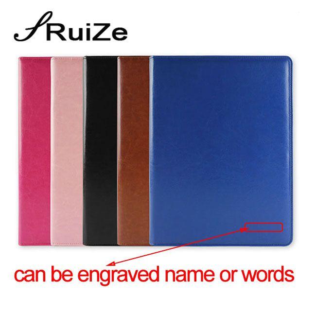 RuiZe dossier de bureau multifonction A4 dossier en cuir padfolio organisateur dossier de signature de contrat avec calculatrice et bloc-notes