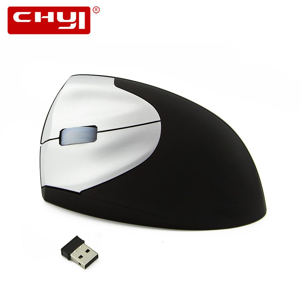 2017 high quality wireless Left hand optical vertical mouse with USB <font><b>receiver</b></font> Protect the wrist for computer gaming mouse