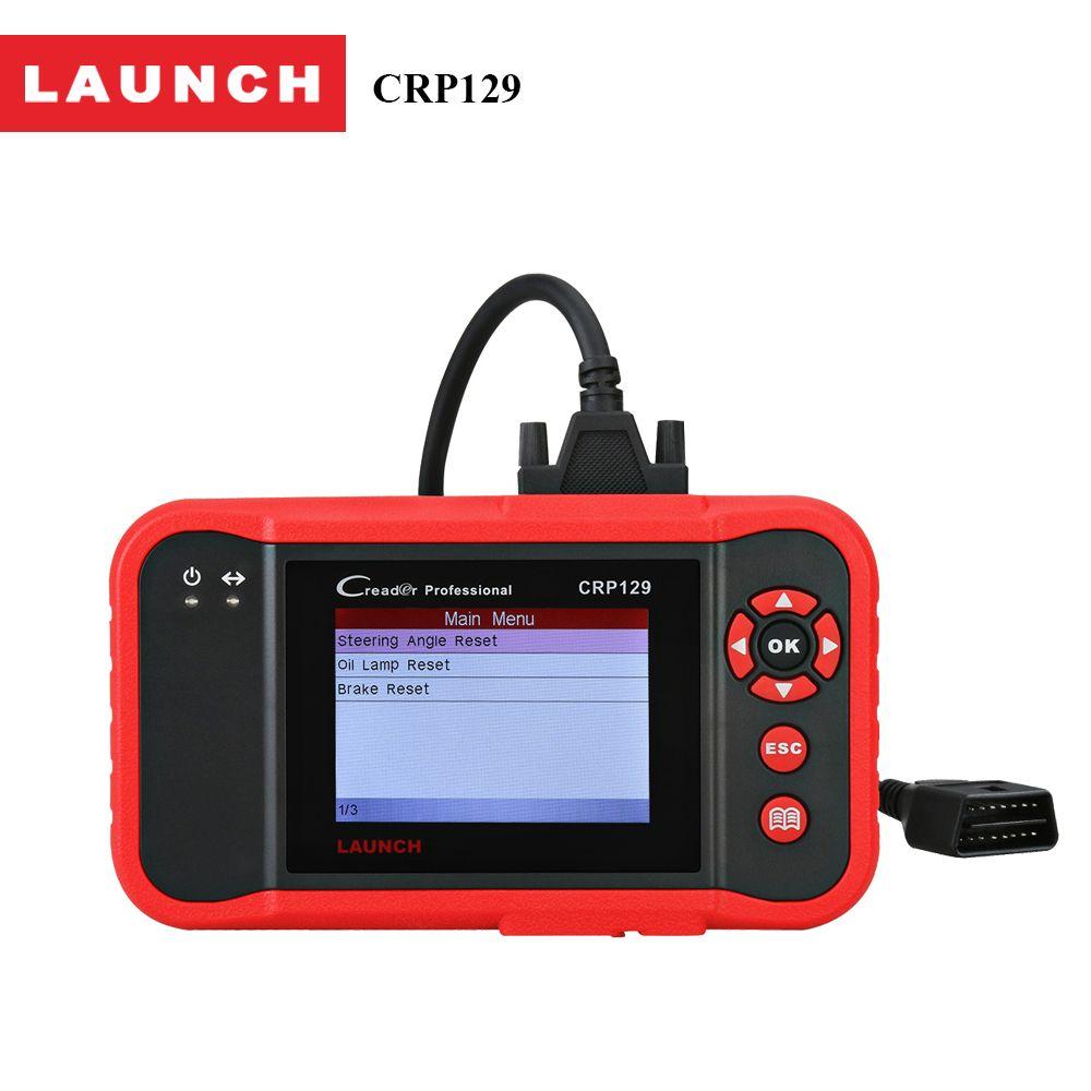 Launch Creader CRP129 OBD2 Scanner Auto Diagnostic Tool Transmission Engine ABS SRS Autoscanner Diagnostics Brake Oil Reset EPB