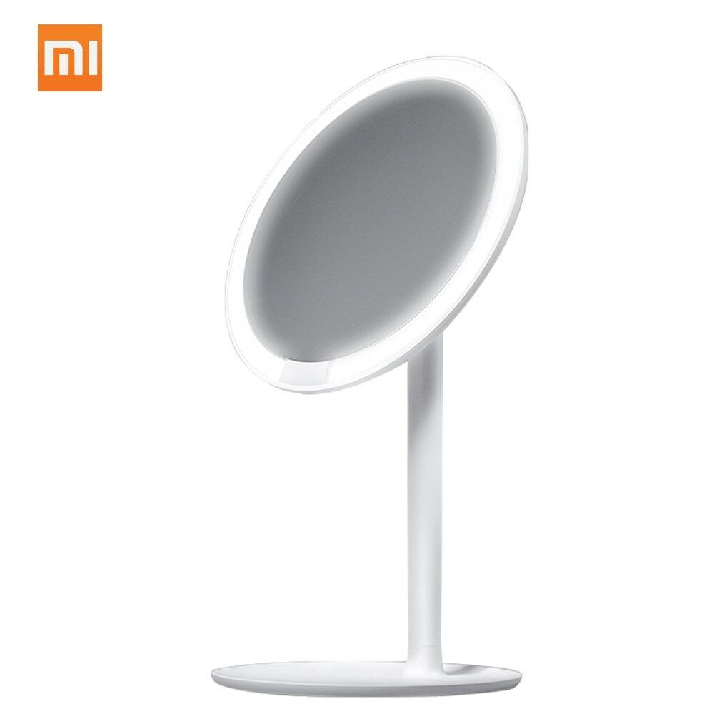 Xiaomi Mijia AMIRO HD Mirror Daylight Cosmetic Makeup Led Mirror Lamp 2000mAh Dimmable Adjustable Countertop 60 Degree Rotating