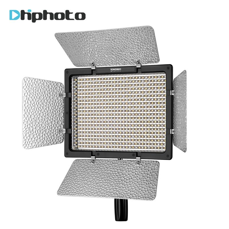 YONGNUO YN600L&YN600S Camera Lights LED Video Light 5500K Color Temperature for Canon Nikon Camcorder DSLR photographic light