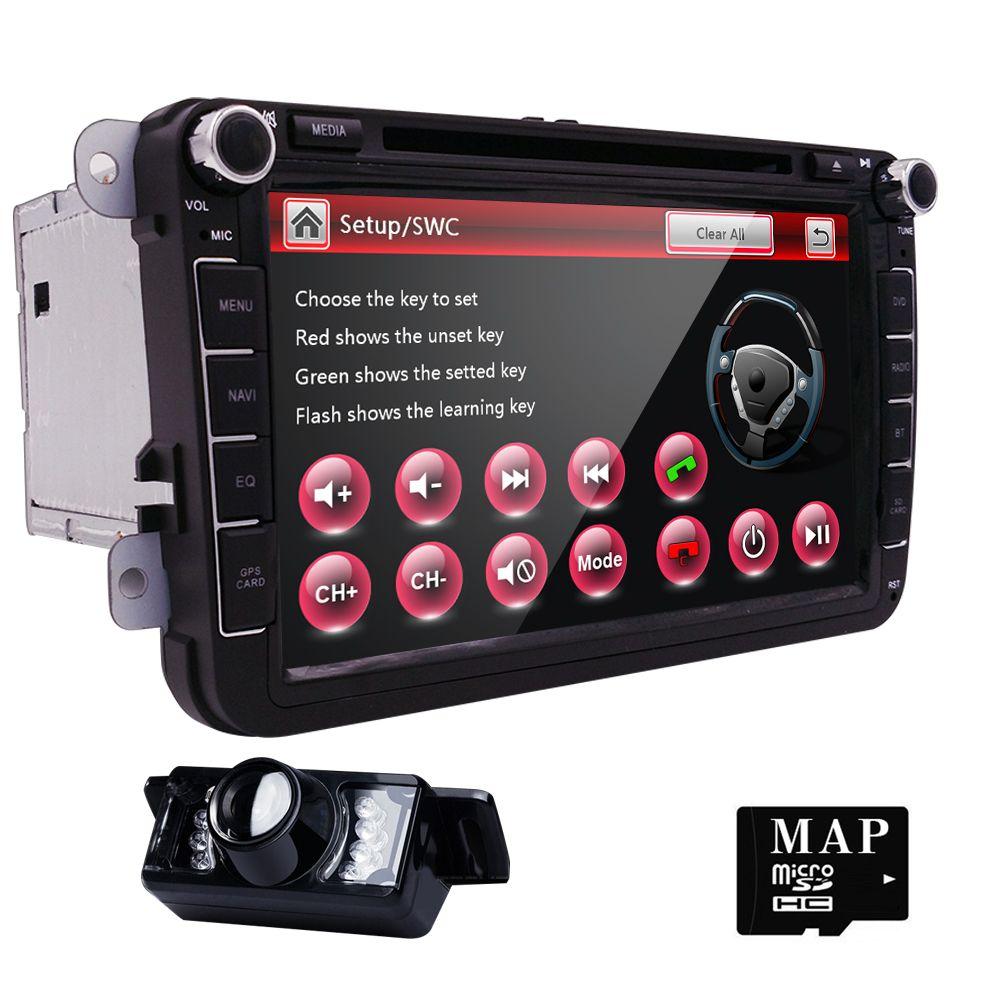 AutoRadio 2 din Car DVD Player for Volkswagen Seat Leon Altea Skoda Octavia 2 3 Rapid VW Passat b6 T5 Golf 5 6 Amarok Audio Navi