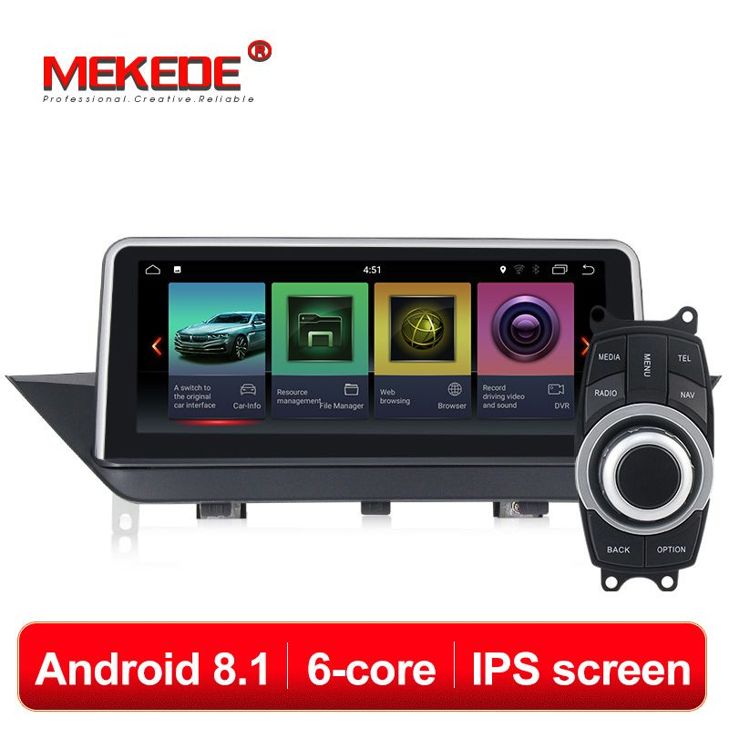 IPS ID7 PX6 6 kerne Android 8.1 system Auto DVD-multimedia-Player für BMW X1 E84 2009-2013 mit wifi radio BT GPS Navigation