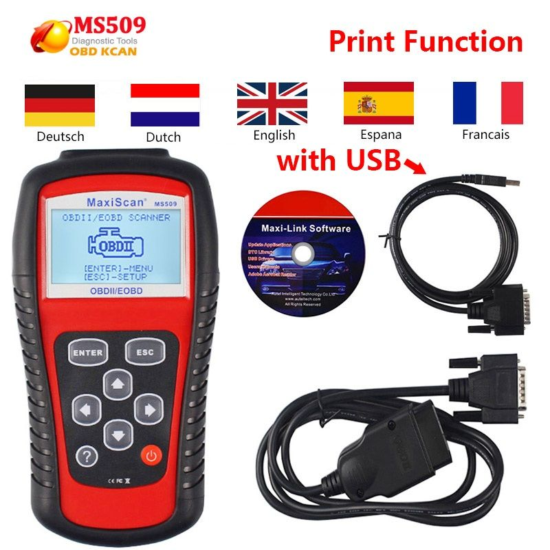 Autel MaxiScan MS509 OBD2 Motor Fehler Diagnose-Scanner Auto Code Reader MS509 OBDII Code Leser & Scan Werkzeuge