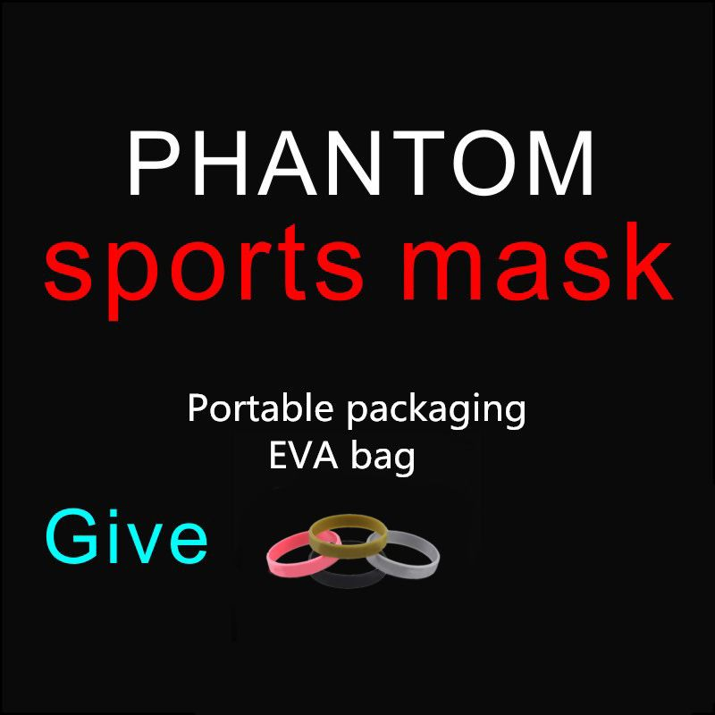 Drop Shipping Hot Sale Good Quality Men Women Phantom Portable Packing Style Sport Outdoor Mask With EVA Bag And Mask