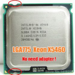 Intel Xeon X5460 procesador 3,16 GHz 12 MB 1333 MHz cpu funciona en LGA 775 placa base