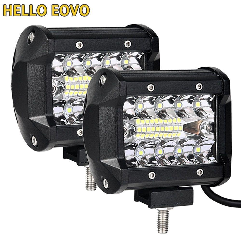 4 pouces barre de led led barre lumineuse de travail pour Conduite Offroad Bateau De Voiture Tracteur Camion 4x4 SUV ATV 12 V 24 V Nominale 60 W Réelle 15 W