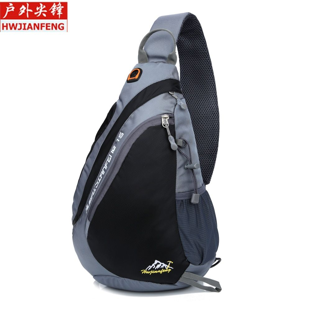 Outdoor Running Bag Sport Cycling Single Shoulder Pack Man Lightweight Hiking Bag Unisex Waterproof Bicycle Chest Bags