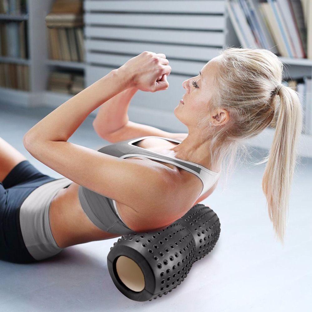 Foam Massage Roller Yoga Stärken Block Werkzeuge Fitness Gym Übungen Yoga Schaumstoffrolle für Pilates Myofascial Release
