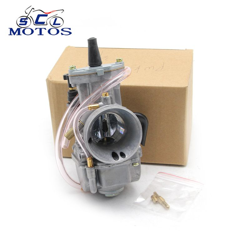 Sclmotos- Motorcycle Parts Motor Carburetor Modification 28 30 32 34mm KOSO High Quality Carb With Power Jet Fit Race Scooter