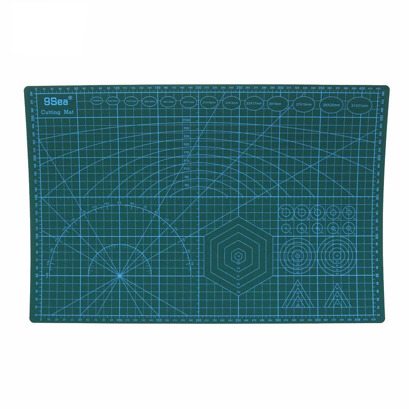 9 SEA Brand A3 Cutting Mat 430 * 280 * 3mm Flexible Enough Large Model Cutting Knife Pad Effectively Meet Your Use