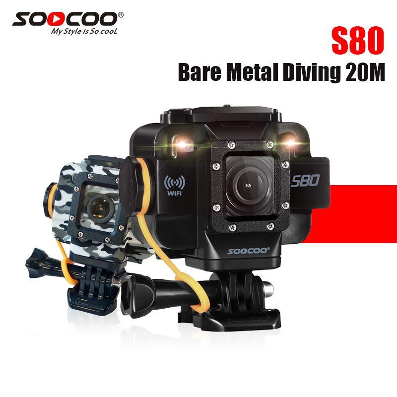 SOOCOO S80 sport kamera mit 1,5