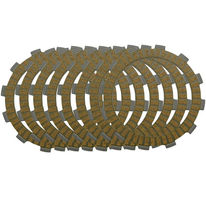 Motorcycle Clutch Friction Plates Set for HONDA CRF250R CRF250 R 2004-2010 Clutch Lining #CP-00029