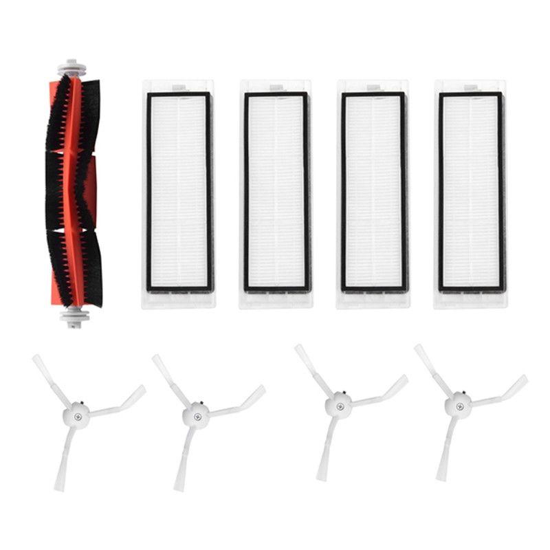 1 pcs brosse principale + 4 pcs hepa filtre + 4 pcs brosse latérale de Remplacement pour Xiaomi mijia robot roborock s50 s51 roborock 2