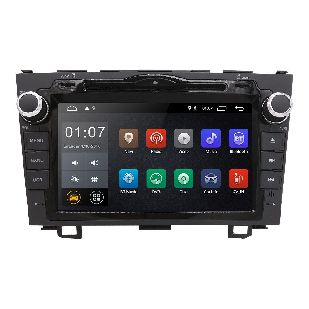2 Din 8 Android 9.0 Auto Radio DVD Quad Core Stereo GPS Multimedia-Player Für Honda CRV 2007 2008 2009 2010 2011 TUPFEN TPMS WIFI