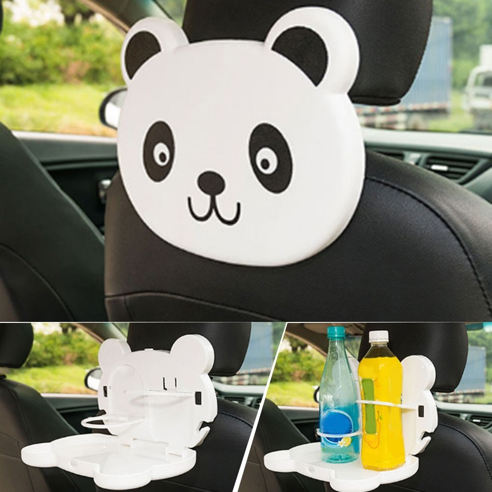 4 Colors Foldable Auto Car Back Seat Table Drink Food Cup Tray Stand Desk phone mounts holder Car Styling Accessories Hot Sale