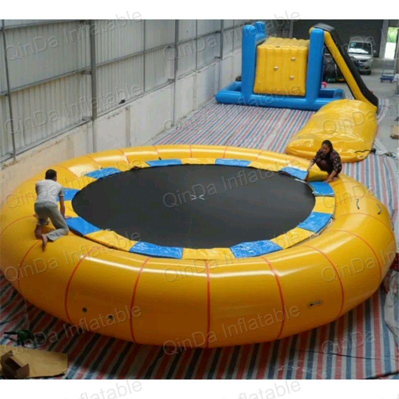 Riesige Aufblasbare freizeitpark fahrten/aufblasbare wasserpark/Aufblasbare Wassertrampoline