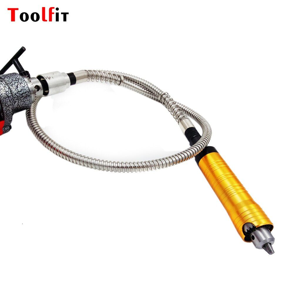 6mm Rotary Grinder Tool Flexible Flex Shaft +0-6mm Handpiece For Dremel Style Electric Drill Rotary Tool Accessories