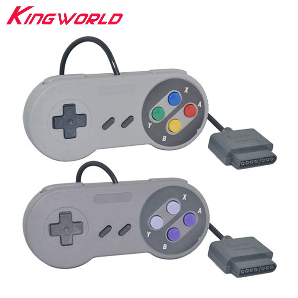Classic Controller Button Style Gamepad for Nintendo Super Famicom for SNES Game console