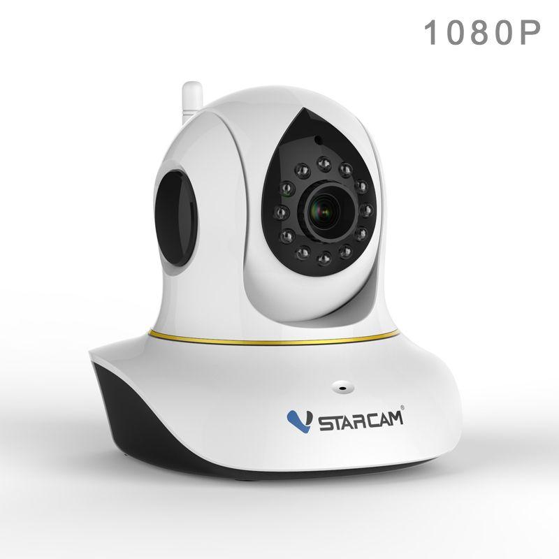 VStarcam c38s Беспроводной ip панорамирования/наклона/Ночное Видение безопасности Интернет Камеры скрытого видеонаблюдения