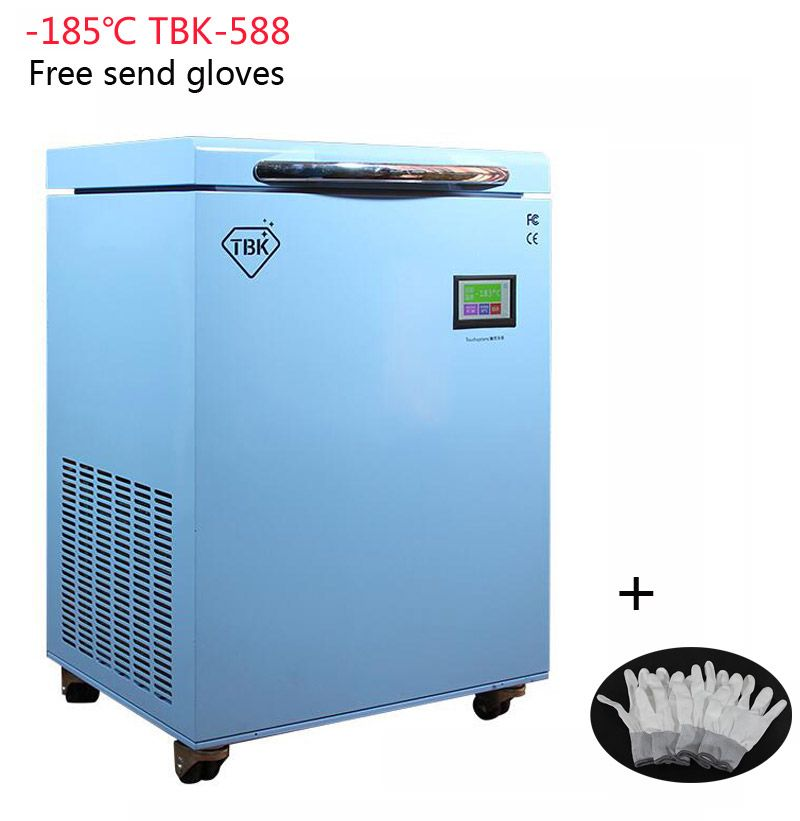 TBK-588 Freezing Machine Instruments LCD Touch Screen Separating Machine -185C Frozen Separator Professional Mass Electric Tools