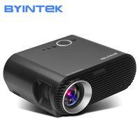 BYINTEK бренд BL127 1280x800 кино игры USB HDMI fulL hD ЖК светодио дный светодиодный проектор для 1080 P театр Вечерние
