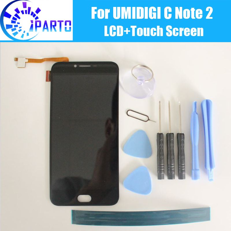 <font><b>UMIDIGI</b></font> C Note 2 LCD Display Screen 100% Original New Tested High Quality Replacement LCD Screen For UMI C Note 2+Tools