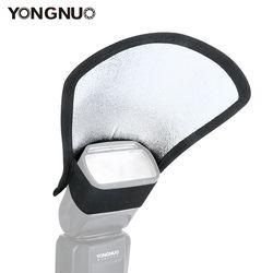 Universal Two-Side Flash Diffuser Softbox Reflector for Nikon SB-600/Canon 430EX/Godox Flash/Yongnuo YN560IV YN685 YN600EX-RT II