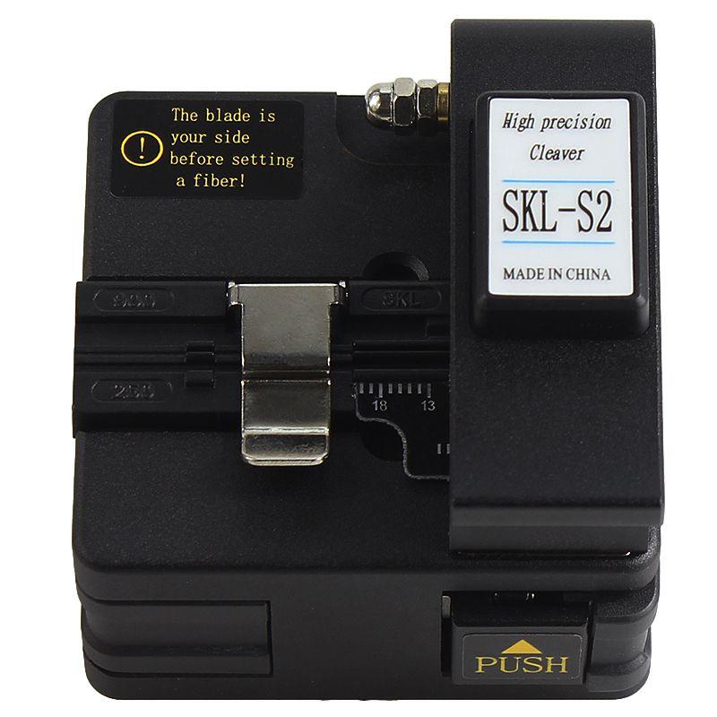 Free shipping high precision Optical fiber cutter SKL-S2 optical fiber fusion cleaver,optical fiber cutter