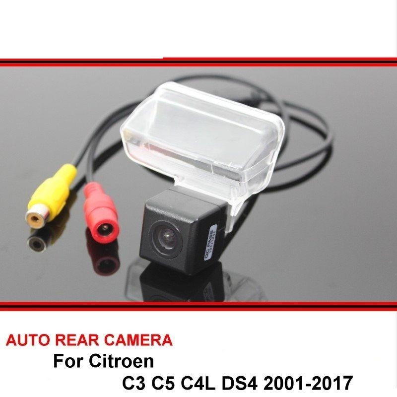 Für Citroen C3 C5 C4L DS4 DS 4 2001-2017 Nachtsicht Rückansicht Kamera Rückfahr Kamera Auto Zurück up Kamera HD CCD Fahrzeug Kamera