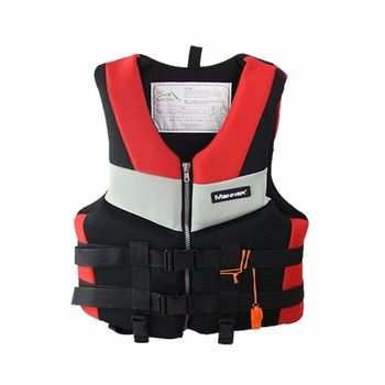 S-XXL Men Women Life Jacket Universal Swimming Boating Drifting Fishing Foam Vests Thickened Safety Survival Utility Life Vest