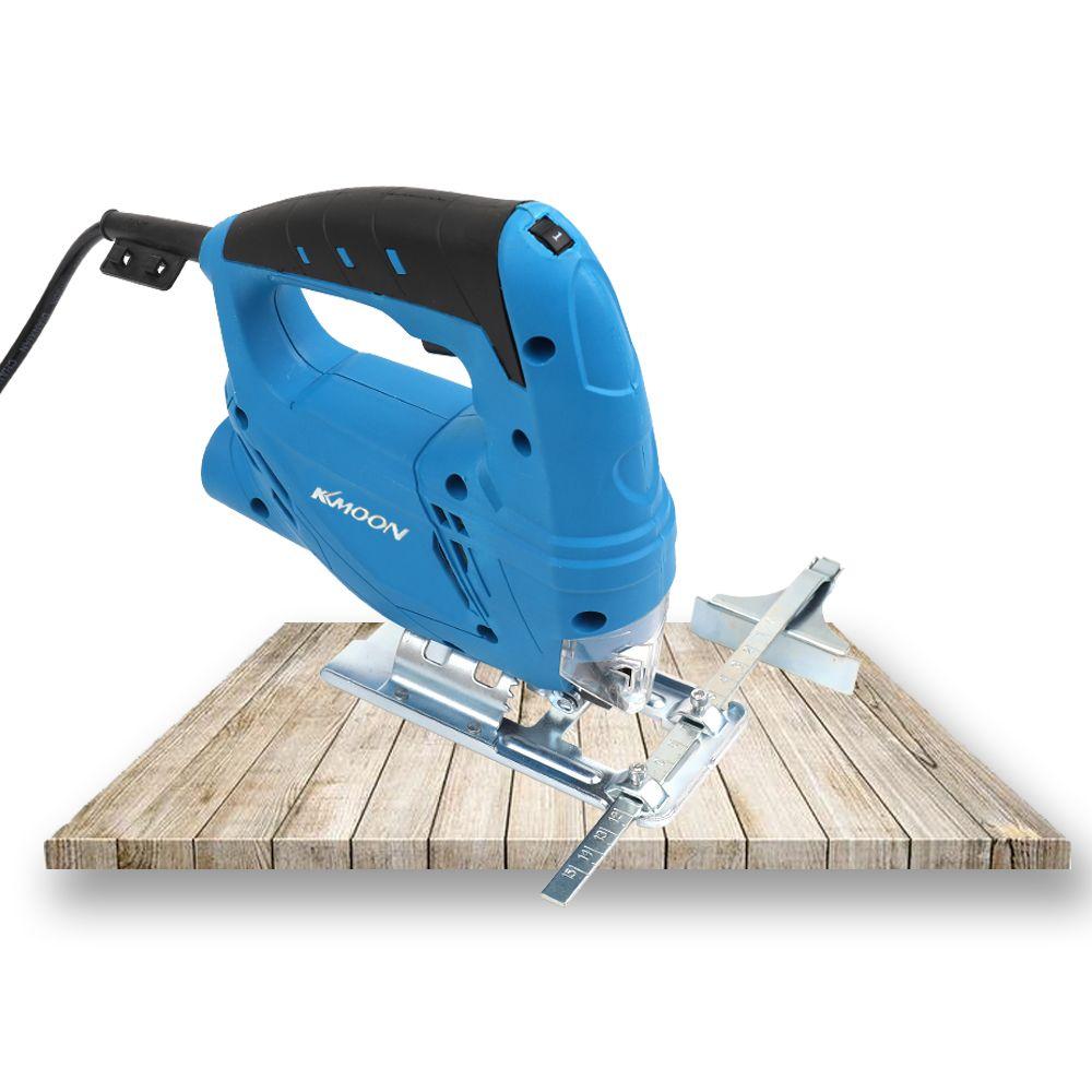 KKMOON Multifunktionale 220 v 710 watt Handheld mini Holzbearbeitung Elektrische Sägen Home Manuelle Jig Saw Motor Werkzeug mit 2 stücke sägeblätter