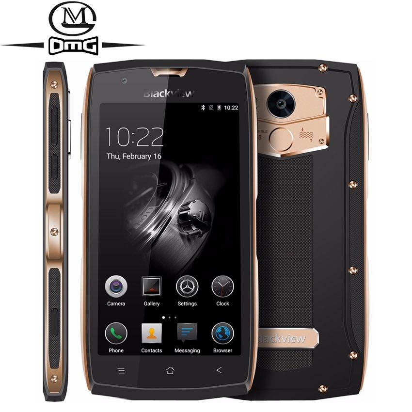Original Blackview BV7000 IP68 wasserdicht stoßfest Smartphone Android 7.0 MTK6737T Quad Core 4G LTE 5,0