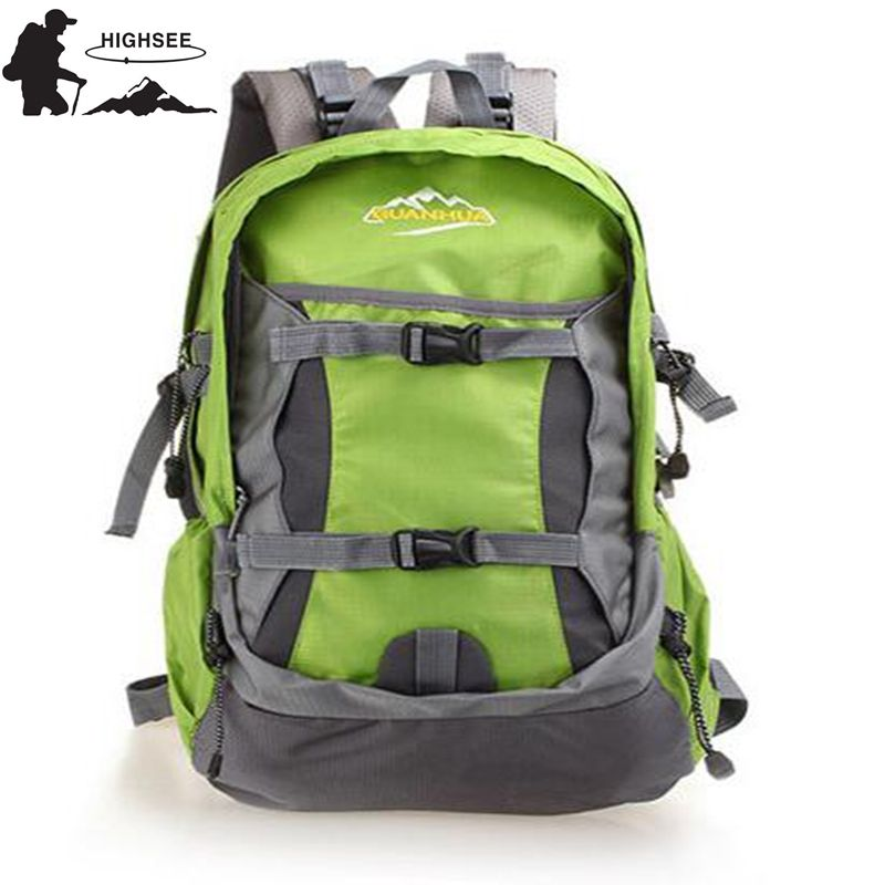 HIGHSEE Outdoor Mountain Backpack 30L Camping Backpack Travel Sport Hiking Backpacks Men Nylon WaterProof Outdoor Climbing Bag