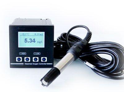 Echtzeit Gelöst Sauerstoff Controller Industrielle Monitor meter TUN tester RS485 Modbus 4-20mA Relais ausgang fischteich