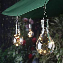 Accueil Jardin Solaire Lumière Ampoule Étanche Solaire Rotatif Jardin Extérieur Camping Suspendu LED Lumière Lampe Ampoule Décoration Lumière
