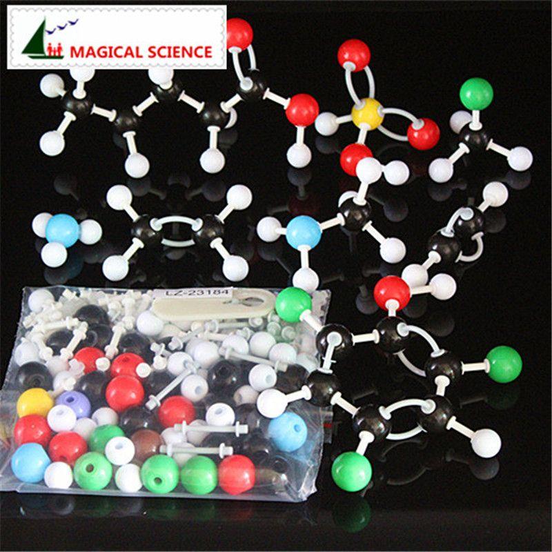 184pc Molecular structure Model Set new Organic & Inorganic Chemistry models kit for Student Teacher Teaching Tool free shipping