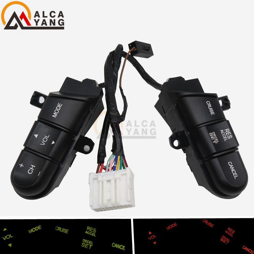 Malcayang interrupteur/bouton de commande Audio de volant pour Honda Civic 06-11