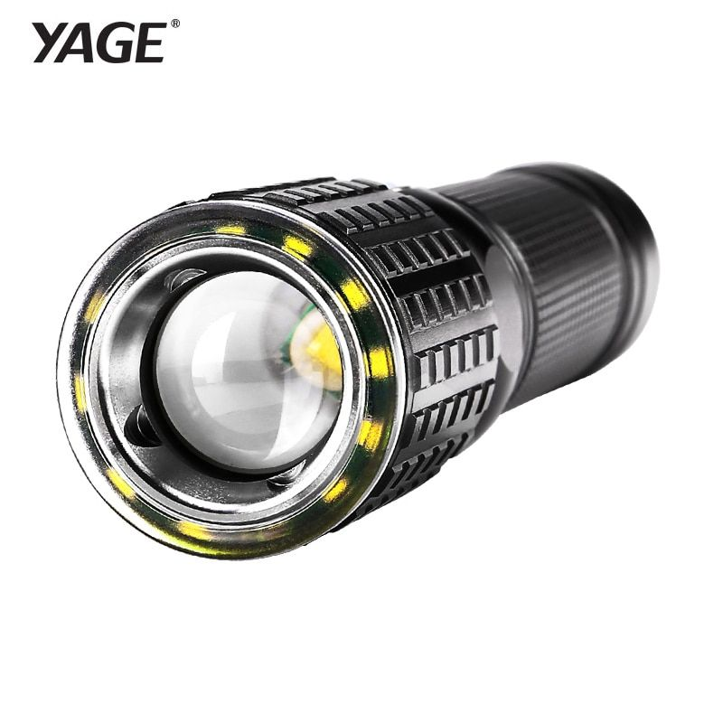 YAGE Flashlight Rechargeable Cree XML-T6 Lanterna Tactical flashlights USB LED Flashlight 18650 Lampe Touche Linternas Led Lamp