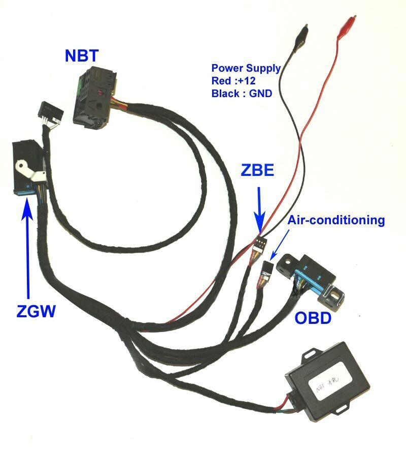 Für bmw f01 f02 f10 f18 f25 fxx nbt zündung emulator zu ZGW Für CAS4 Zündung AUF Zündung Emulator Für Fxx NBT Zündung Tester