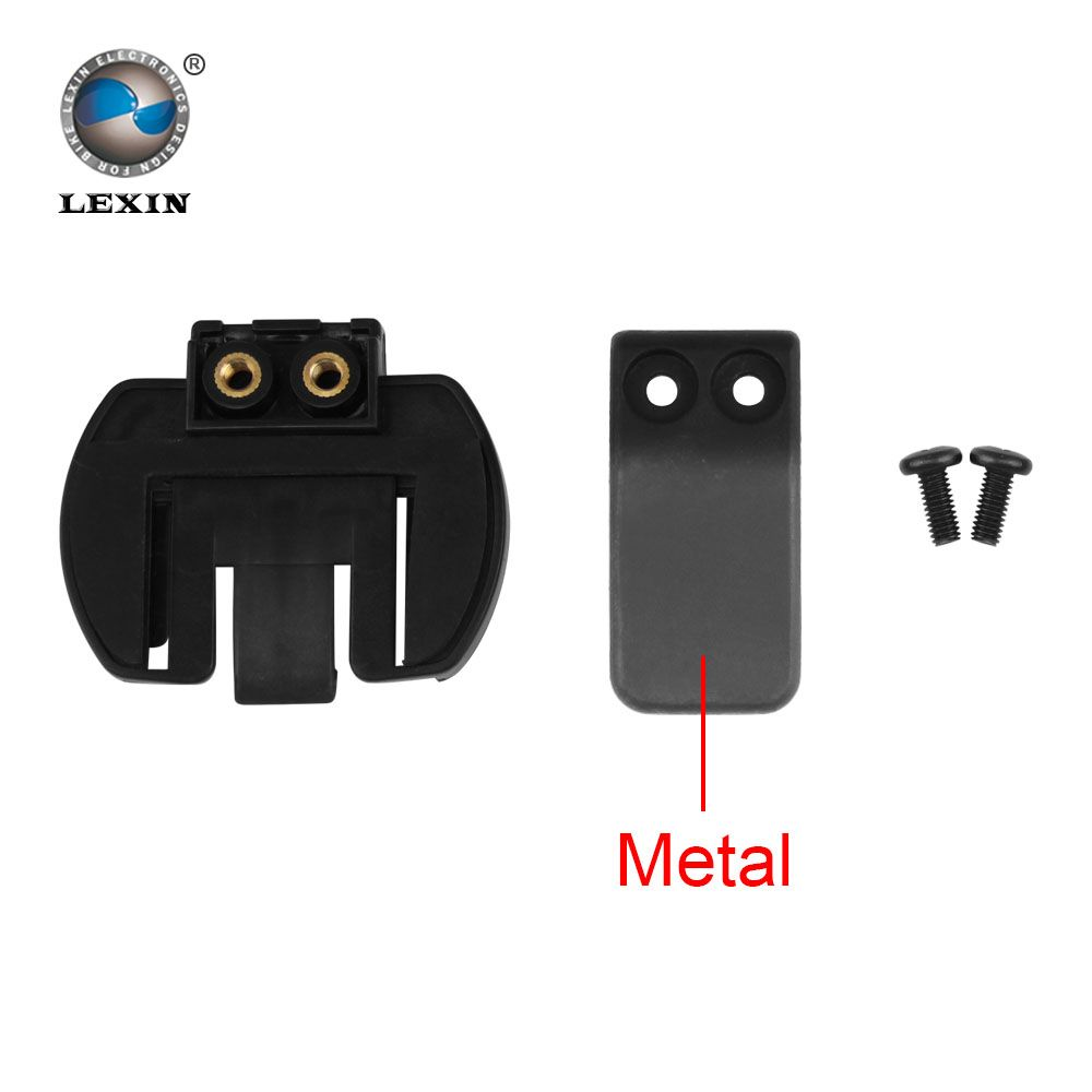 Free shipping 1 pcs Metal Clip clamp Set Accessories for clamp LX-R6 1200M motorcycle Bluetooth Helmet Interphone Intercom