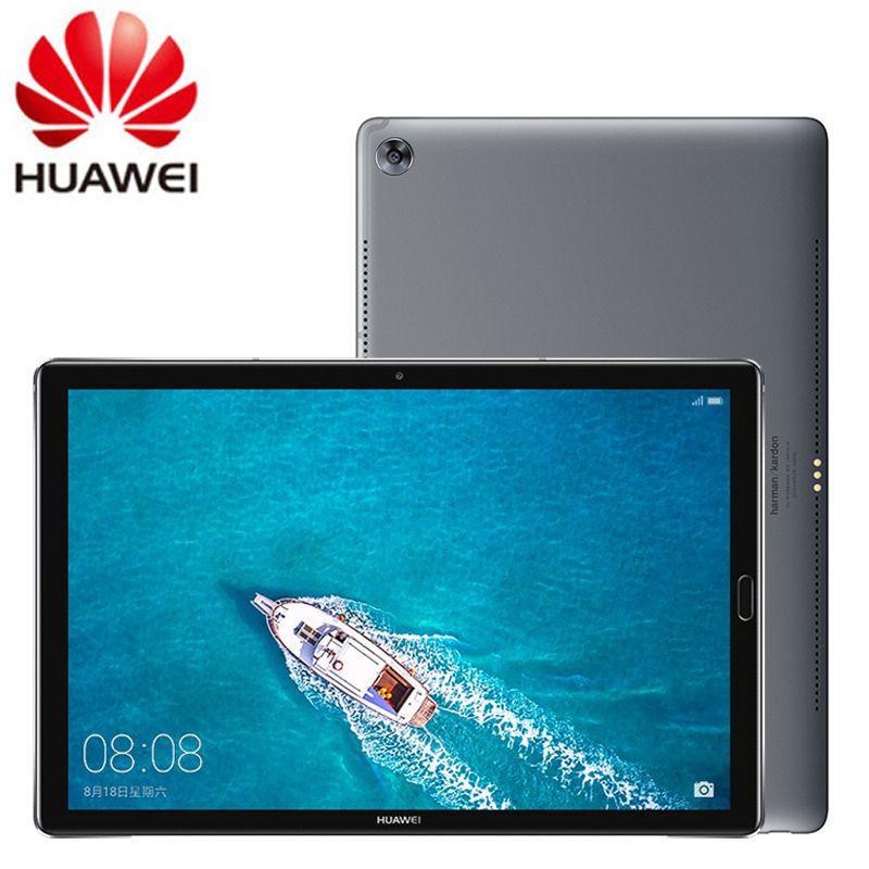 Globale Firmware Huawei Mediapad M5 4GB 6GB Kirin 960s Octa Core 10,8 zoll 2K IPS Android 8.0 2560x1600 Fingerprint ID