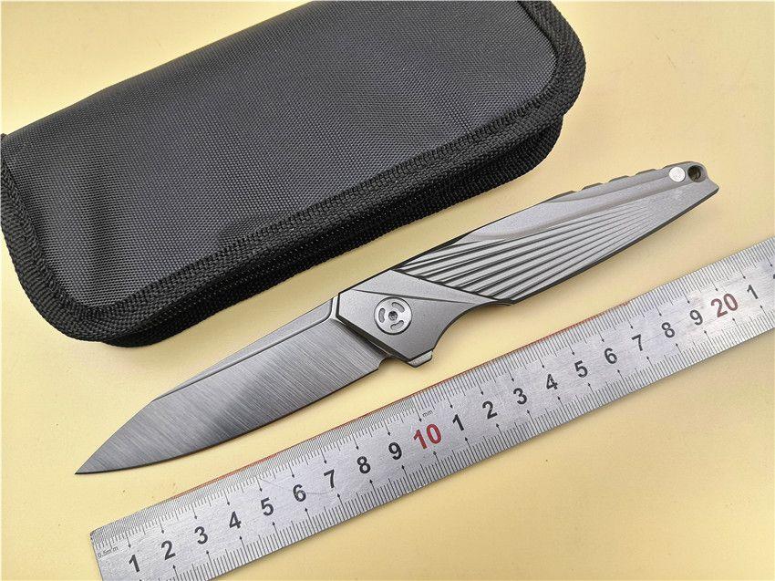 CH OEM KS99 Messer S35VN Balde Titan Griff Klapp EDC Messer kugellager flipper Tasche camping angeln messer werkzeuge