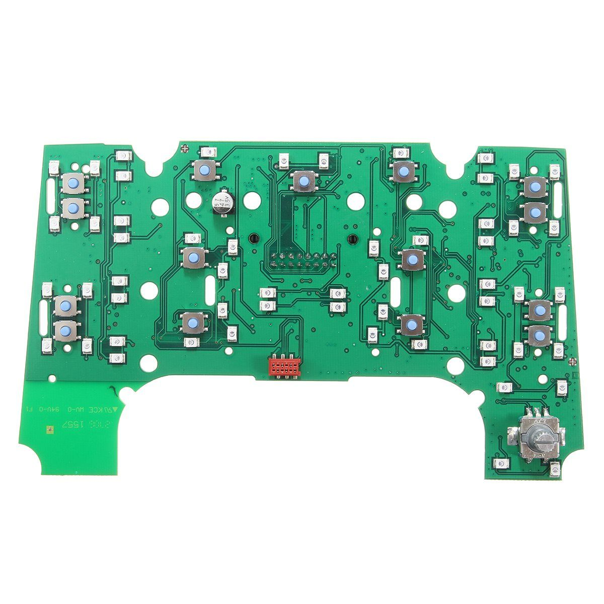 New 2G MMI Multimedia Interface Control Panel Circuit Board For Audi A8 A8L S8 2003 2004 2005 2006 PVC and Metal