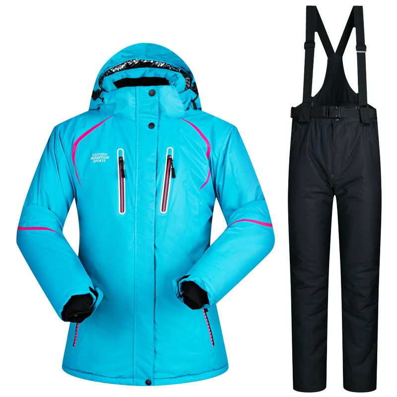 2017 New Winter ski Suit Women Sets Windproof Breathable Waterproof Women Snow Jacket and Pants Warm Clothes Set snowboard suits