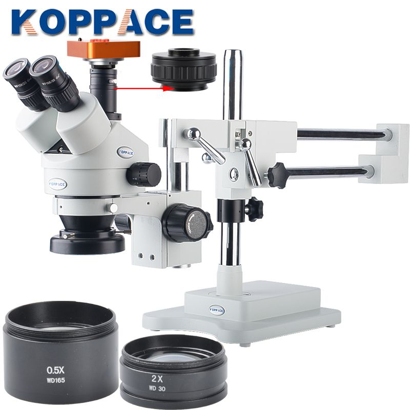 21MP Full HD 1080P 60FPS HDMI Electron Industry Digital Microscope Camera Mobile phone repair 3.5X-90X Stereoscopic Microscope