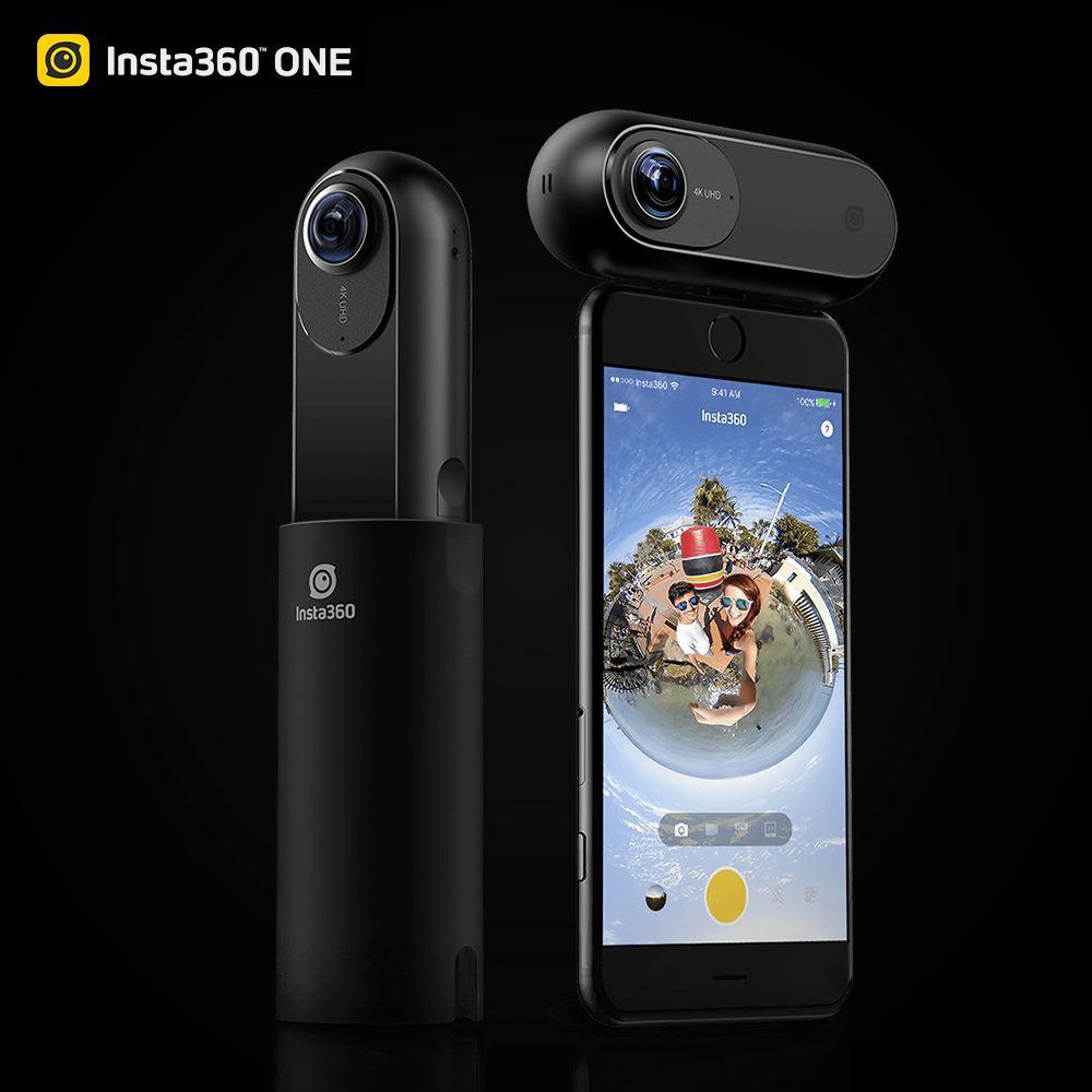 Insta360 ONE 4 Karat 360 VR Video Sport Action Kamera 24MP Kugel Zeit 6-achsen Gyroskop Unterstützung BT für iPhone Cam
