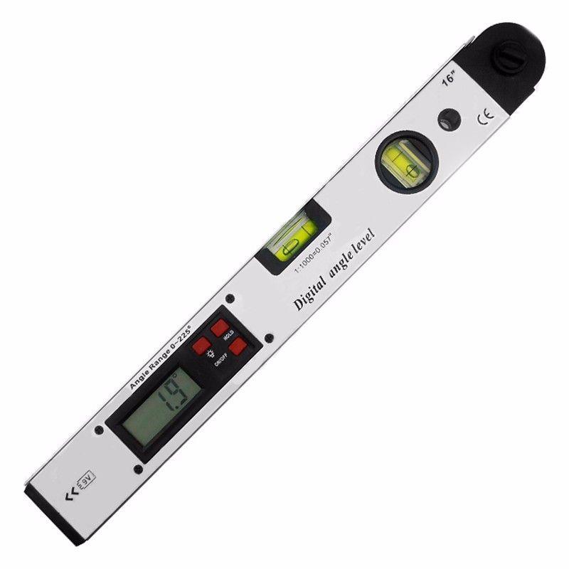 Electronic Digital Protractor Digital angle level digital spirit Level Angle Finder meter 0-225 Degree LED Display 9V